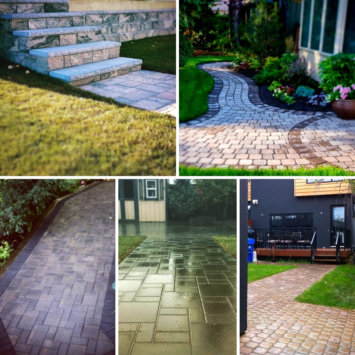 New Look Landscapes - Services - Walkways